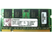 Ram Kingston 1GB / DDR2 / Laptop