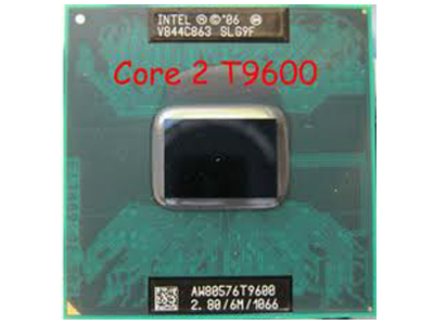 CPU laptop T9600 @ 2.8GHz (6MB cache)