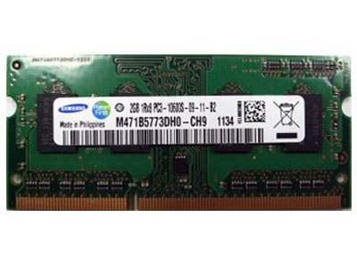 Ram Samsung 2GB / DDR3 / Bus 1333 Mhz / Laptop