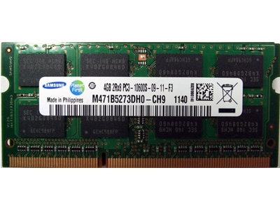 Ram Samsung 4GB / DDR3 / Bus 1333 Mhz / Laptop
